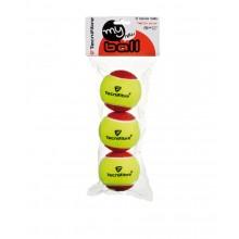 TECNIFIBRE MY NEW BALL SACHET DE 3