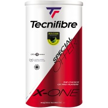TECNIFIBRE X-ONE  ( 2X 4 BALLEN )