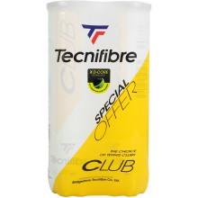 TECNIFIBRE TENNISBAL CLUB BIPACK (2x4ST)
