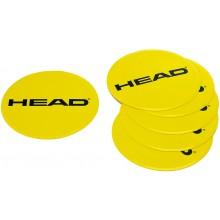 SET VAN 6 HEAD CIRKELS