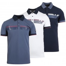 EA7 TENNIS CASUAL SPORTY LOGO POLO