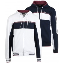 EA7 CASUAL SPORTY SWEATER MET RITS EN CAPUCHON