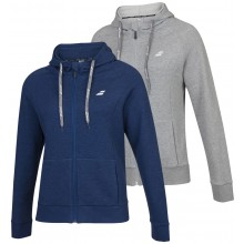 BABOLAT EXERCISE SWEATER MET CAPUCHON EN RITS DAMES