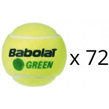 BABOLAT GREEN RECHARGE (72 BALLEN)