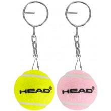 HEAD TENNISBALLEN SLEUTELHANGER