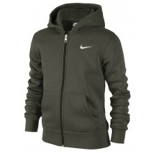 NIKE JUNIOR BRUSHED FLEECE FULL-ZIP HOODIE JONGENS