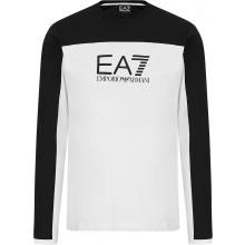 EA7 T-SHIRT MET LANGE MOUWEN