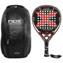 NOX STRINGER 10th ANNIVERSARY PADELRACKET + RUGZAK + ACCESSOIRES