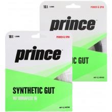 PRINCE SUPER SYNTHETIC GUT DURAFLEX 16 TENNISSNAAR (12 METER)