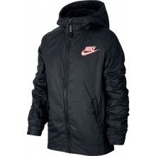 NIKE JUNIOR FLEECE JAS MET KAP