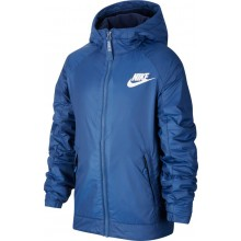 NIKE JUNIOR FLEECE JAS MET CAPUCHON
