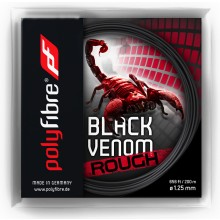 POLYFIBRE BLACK VENOM ROUGH (12 METER)