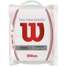 WILSON PRO OVERGRIP GEPERFOREERD ( 12 ST)