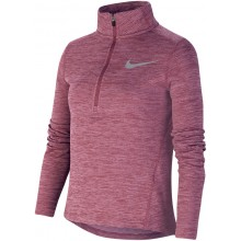 NIKE JUNIOR 1/2 ZIP T-SHIRT MET LANGE MOUWEN