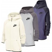 NIKE JUNIOR SPORTSWEAR TECH FLEECE SWEATER MET CAPUCHON