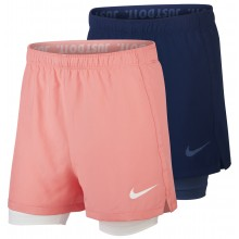 NIKE JUNIOR 2 IN 1 DRI-FIT SHORT MEISJES