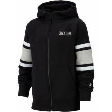 NIKE JUNIOR SWEAT MET KAP EN RITS