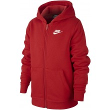 NIKE JUNIOR ZIPPE SWEATER MET CAPUCHON