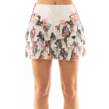 LUCKY IN LOVE HI ANIMAL FEVER PLEATED SCALLOP ROK