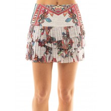 LUCKY IN LOVE HI PHOENIX RISING PLEATED SCALLOP ROK