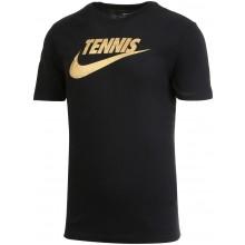 T-SHIRT NIKE TENNIS METALLIC