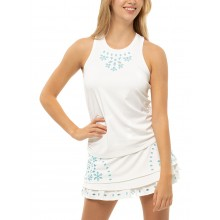 LUCKY IN LOVE EYELET RUCHE TANKTOP DAMES