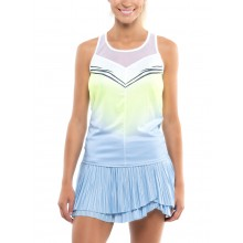 LUCKY IN LOVE WILD OMBRE TIE BACK TANKTOP DAMES