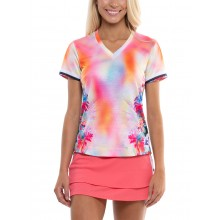 LUCKY IN LOVE TECHNO TROPIC DAMES T-SHIRT