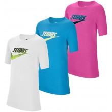 NIKE JUNIOR TENNIS GRAPHIC T-SHIRT