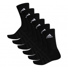 CHAUSSETTES ADIDAS CUSHION CREW 6 PAIRES