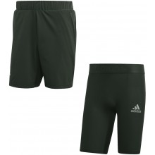 ADIDAS 2 IN 1 AUSTRALIAN OPEN ATHLETES SHORT