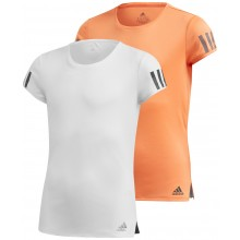 ADIDAS JUNIOR CLUB 3 STRIPES T-SHIRT MEISJES