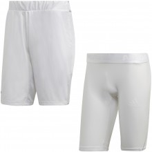 ADIDAS TSITSIPAS 2 IN 1 SHORT