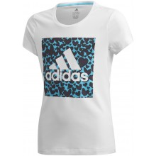 ADIDAS JUNIOR LEO GRAPHIC T-SHIRT MEISJES