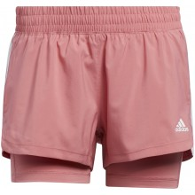 ADIDAS PACER 3S 2IN1 SHORT DAMES