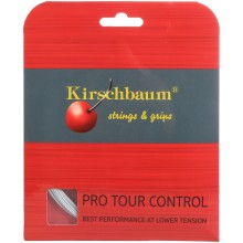 KIRSCHBAUM PRO TOUR CONTROL TENNISSNAAR (12 METER)