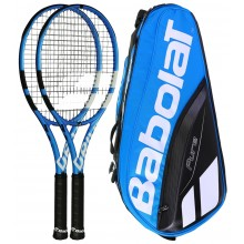 BABOLAT PURE DRIVE PACK MET 2 RACKETS + 1 TAS
