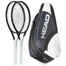 HEAD GRAPHENE 360 SPEED MP PACK MET 2 RACKETS + 1 TAS