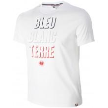 ROLAND GARROS BLEU BLANC TERRE T-SHIRT
