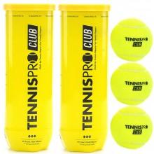 TENNISPRO TENNISBAL CLUB BIPACK (2x 3 BALLEN)