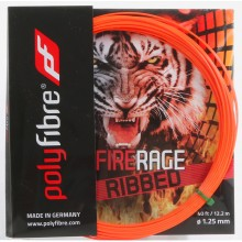POLYFIBRE FIRERAGE RIBBED TENNISSNAAR  (SET 12,2 METER)