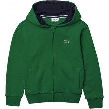 SWEAT A CAPUCHE LACOSTE JUNIOR ZIPPE