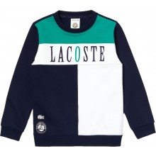 LACOSTE JUNIOR ROLAND GARROS SWEATER