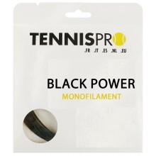TENNISPRO DW BLACK POWER TENNISSNAAR (SETJE 12M)