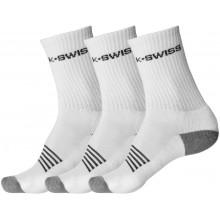 K-SWISS SPORT SOKKEN (3 PAAR)