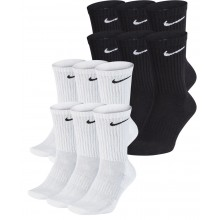NIKE CUSHION EVERYDAY 6 PAAR MIDDELHOGE SOKKEN