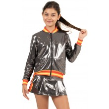 LUCKY IN LOVE JUNIOR METALLIC GROOVY STRIPE JAS