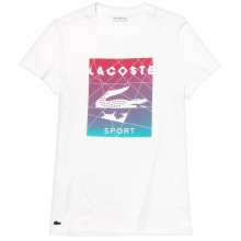 LACOSTE TRAINING DAMES-T-SHIRT