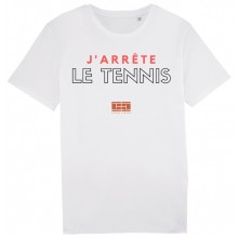TENNIS LEGEND J'ARRETE LE TENNIS T-SHIRT