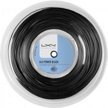 LUXILON BIG BANGER ALU POWER BLACK TENNISSNAAR (ROL 220 METER)